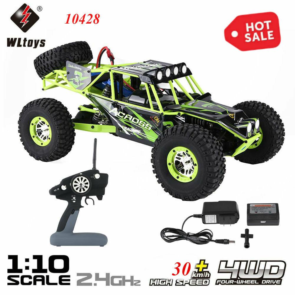 WLgiocattoli  10428 2.4GHz RC 4x4 arrampicata auto 1 10 RC CRAWLER modellololololo auto giocattolo  Senza tasse