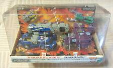 Transformers Universe Smokescreen & Ransack + Minicons MISB