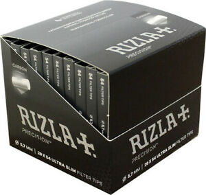 Ultra-Slim-Filter-Tips-Rizla-Precision-Pocket-Activated-Carbon-5-7mm-54-filters