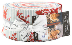 Moda-Northport-Jelly-Roll-2-5-034-Fabric-Quilting-Strips-14880JR-J06