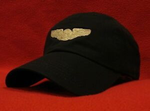 fbba235975a Air Force Basic Aircrew Silver Wings ball cap low-profile aviator ...