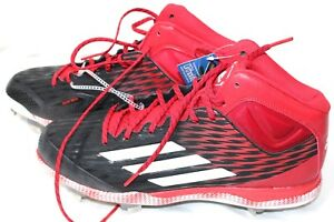 quality design a4c77 94dae Image is loading Adidas-Men-039-s-PowerAlley-3-Mid-Metal-