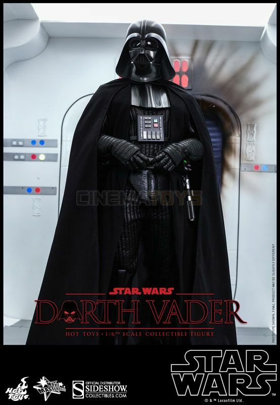 STAR WARS Darth Vader Sixth Scale Figure Figure Figure Hot Toys MMS Episode IV A New Hope 036230