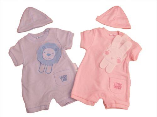 BNWT Tiny Premature Preemie Baby bunny or rabbit romper /& hat clothes 3-5  5-8lb