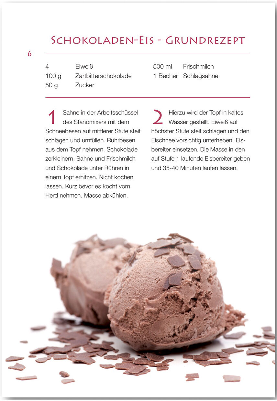 Eis Rezepte Geeignet Für Kitchenaid Eismaschine Von Marion