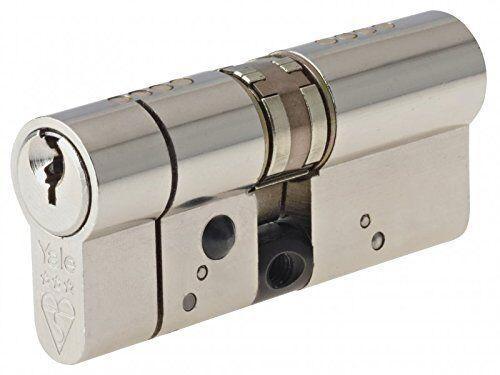 YALE COME PLATINO SERIE profilo europeo cilindro 40 40 NUOVO in scatola