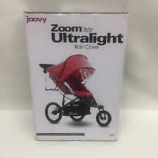 Clear Joovy Caboose Ultralight Rain Cover 1-Pack