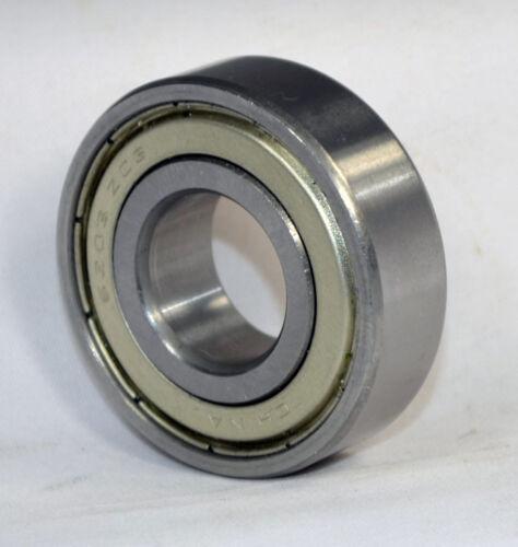 1640-ZZ C3 Shielded Premium Ball Bearing, 7/8x2x9/16