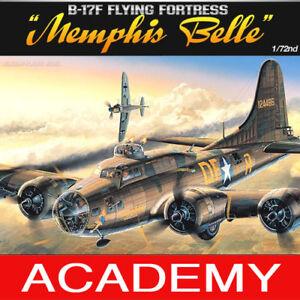 1-72-B-17F-FLYING-FORTRESS-MEMPHIS-BELLE-12495-ACADEMY-MODEL-HOBBY-KITS