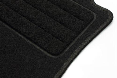 Audi A4 8D B5 depuis 1994-2001 tapis de sol moquette velours noir