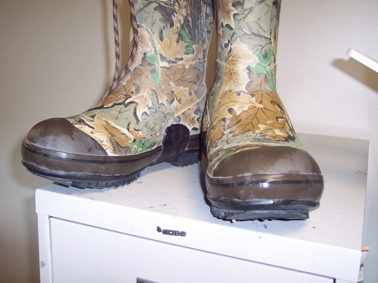 ROCKY RUBBER HUNTING BOOTS STEEL SHANK SIZE 12 THINSULATE ON SALE