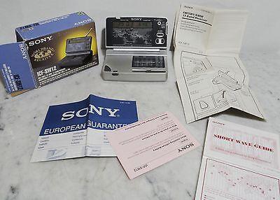 Sony ICF-SW12 - Kleiner Weltempfänger Reiseradio in orign. Schachtel u. Papieren