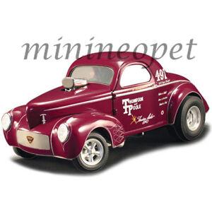 ACME-A1800909-THOMPSON-amp-POOLE-1941-GASSER-1-18-DIECAST-MODEL-CAR-BURGUNDY