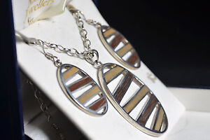 BNIB wood and sterling silver wood pendant and earring set sale - <span itemprop=availableAtOrFrom>Liversedge, United Kingdom</span> - BNIB wood and sterling silver wood pendant and earring set sale - Liversedge, United Kingdom