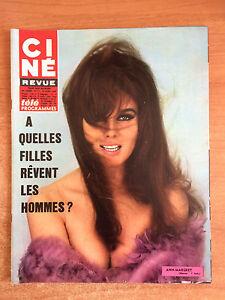 Details about french magazine CINE REVUE 1968 N° 17 ann margret clint  eastwood jean marais