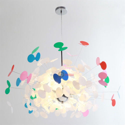 New colorful butterfly chandeliers creative living room children /'s room bedroom
