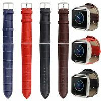 Genuine Leather Watchband Strap Replacemet For Fitbit Blaze Activity Track Watch