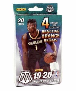 2019-20 Panini Mosaic NBA Basketball Hanger Box Sealed Prizm Orange Zion Ja Rc!