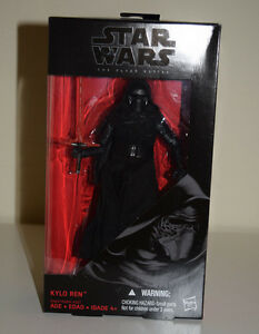 "Star Wars Black Series Kylo Ren The Force Awakens 6"" Wave 1 #03 Hasbro Brand New"