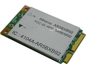 Atheros-AR5BXB92-AR9280-Dual-wireless-abgn-PCIe-Genuine-HP-482260-001