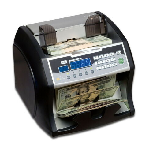 Royal Sovereign RBC-1003BK Bill Counter w// Counterfeit Detection Auto Start//Stop