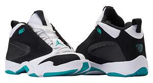 Jordan Jumpman Quick 23 Black White Turbo Green Men's Size 9.5 AH8109-003