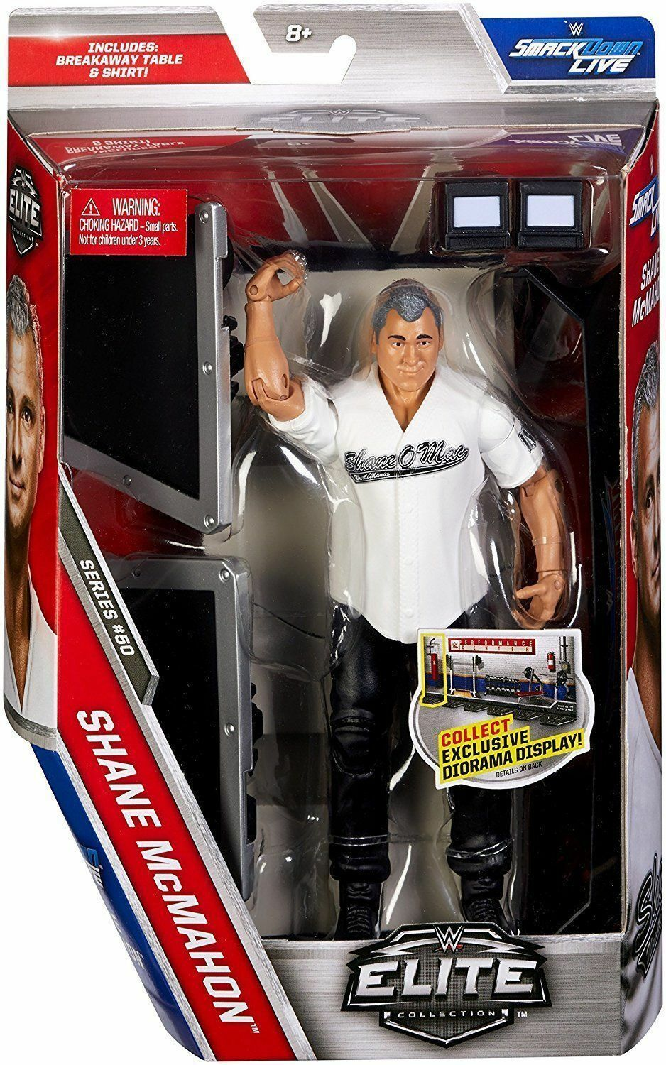 Shane McMahon Elite 50 wrestling figure, loads more for sale, combined postage