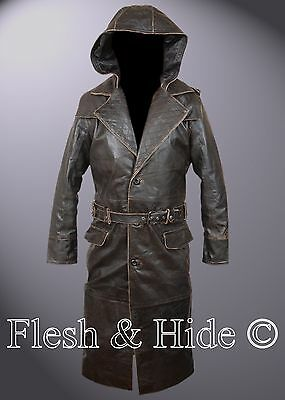 Assassin's Creed Syndicate Jacob Frye Hooded Coat with Quilting Back