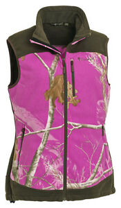 Pinewood-Ladies-Henrietta-Shooting-fleece-Vest-in-Realtree-AP-Pink-amp-Moss-Green