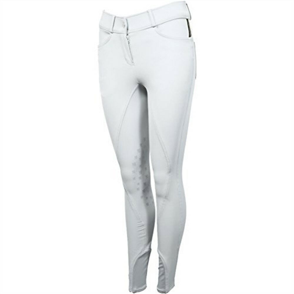 Mark Todd Marceline Riding Breeches 30 Inch White - Ladies Sizes Womens Pants