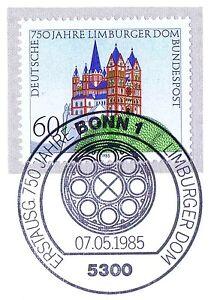 Copieux Rfa 1985: Limbourgeoises Dom Nº 1250 Avec Le Bonner Ersttags-cachet Spécial! 1a! 1510-rstempel! 1a! 1510fr-fr Afficher Le Titre D'origine