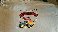 Vintage 1978 Columbus OH Street Rod Nationals T Shirt   Grey XL