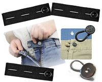 6 Pack Pants Extenders The Button Same Day Shipping 3 Elastic + 3 Variety = 6