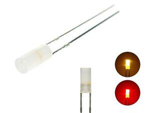 S661-10-Stk-DUO-LED-3mm-Bi-Color-gelb-rot-zylindrisch-Lichtwechsel-Loks-Wendezug