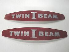 65 66 1965 1966  FORD TRUCK TWIN I BEAM  RED PLASTIC INSERT NEW