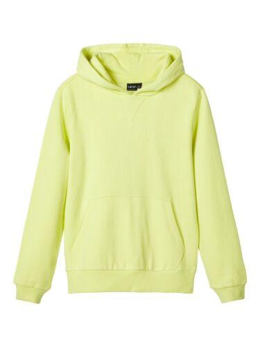 134//140-170//176 NEU LMTD Jungen Sweatshirt NLMLASSO Sunny Lime Gr