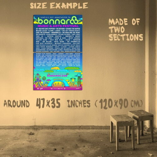 197721 BONNAROO 2017 Wall Print Poster CA