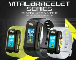 Pre-order Digimon Vital Bracelet Series NEW Device ver. Black, White, Special