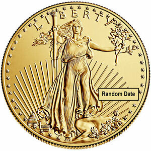 Wire-Payment-Only-Tube-of-20-50-1oz-Gold-American-Eagle-Random-Date-BU