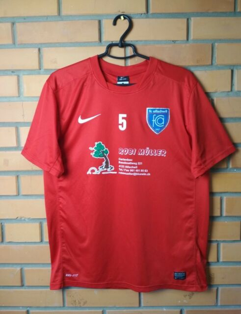 Allschwil Switzerland Swiss Football Shirt Training size L Soccer Jersey Nike