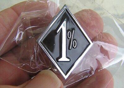 1/%er LAPEL PIN Badge *HIGH QUALITY* Motorcycle suit Harley Davidson Biker Vest