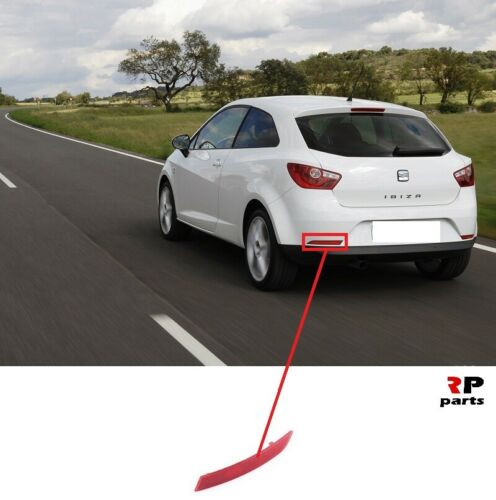 Per SEAT IBIZA 3D 08-12 Nuovo Riflettore Paraurti Posteriore Sinistro N//S