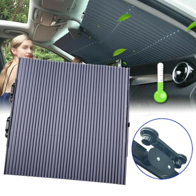 Auto Versenkbarer Vorhang Sonnenschutzrollo Sonnenblende Sonnenschutz Saugnäpfe