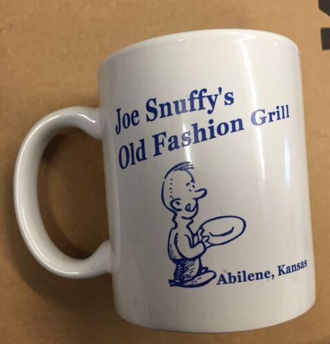 Abilene Kansas Joe Snuffy/'s Old Fashion Grill Coffee Mug