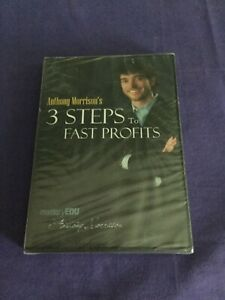 Anthony-Morrison-3-Steps-to-Fast-Profits-DVD-2009-FACTORY-SEALED