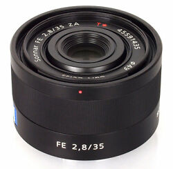 Sony Sonnar T FE 35mm f/2.8 ZA Full Frame Fixed Lens