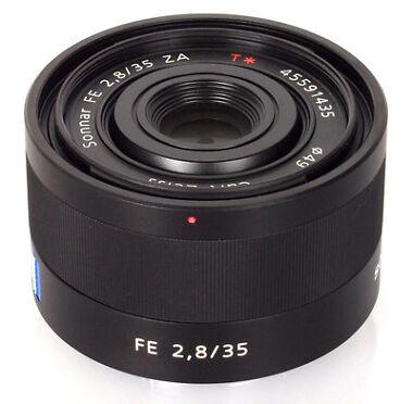 Sony Sonnar T FE 35mm f/2.8 ZA Lens