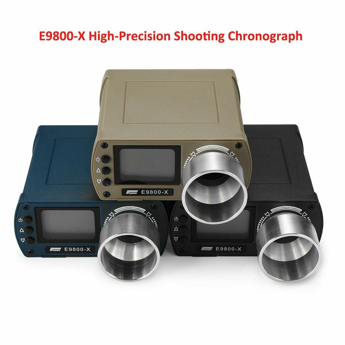 E9800-X High-Precision Shooting Chronograph Speed Tester Airsoft BB Tool Measure