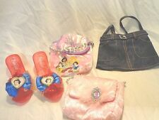 "8"" Princess Disney Shoes Snow White 3 Purses 9"" Pink 9"" Princess 11"" Jean Toys"