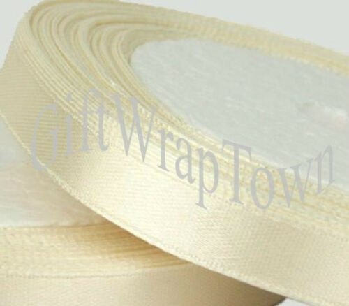 Stunning Satin Ribbon 10mm wide TWO Metres for 99p!!! Lots of colours!!